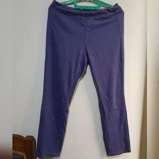 Preloved Uniqlo jegging purple
