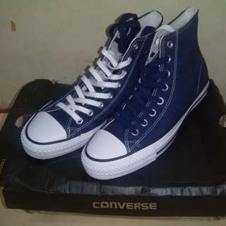Converse CT AS Pro Hi Midnight Navy/White