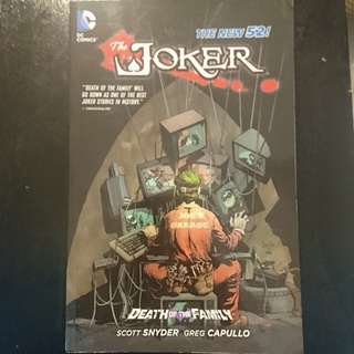 DC Death of the family Joker New 52