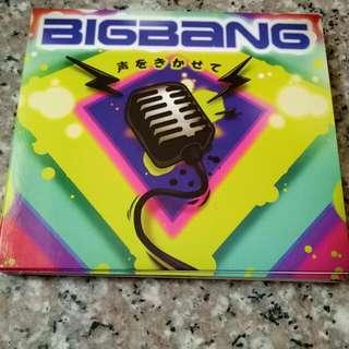 BIGBANG讓我聽聽你的聲音日文單曲