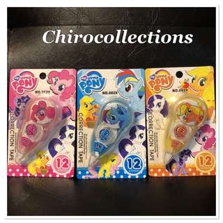 My Little Pony Correction Tape