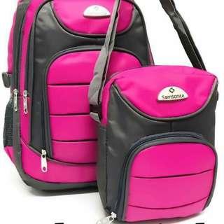 Samsonite bagpack set - 17inch