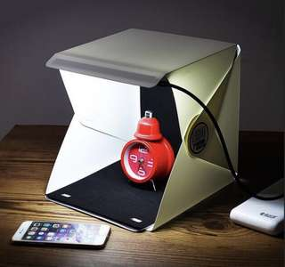 Portable Mini Photo Studio (Lightroom)