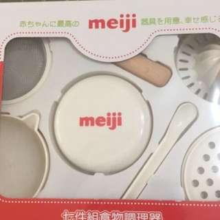 明治寶寶副食品研磨7件組