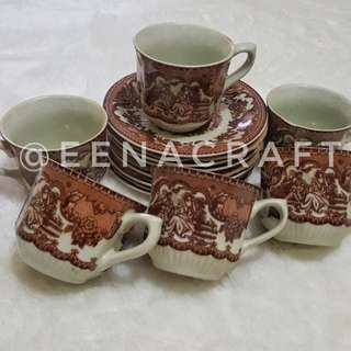 Coffee set tea set shabby