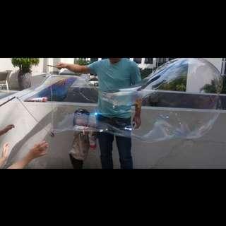 Giant bubble fuss free set (1.6L solution + 1 wand)