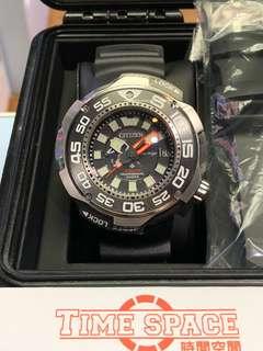 CITIZEN PROMASTER Diver 1000m BN7029-09E(光動能)