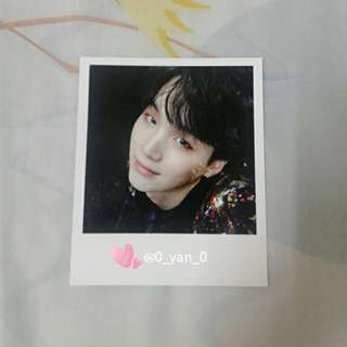 [WTS Only] BTS Suga Wings album Photocard
