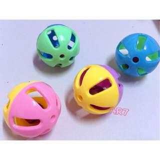 AR7 鈴鐺球 約4公分 貓咪玩具 鸚鵡玩具 玩具 寵物用品  寵物玩具 鈴鐺球