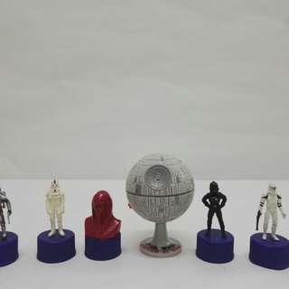 Star wars pepsi bottle cap collection
