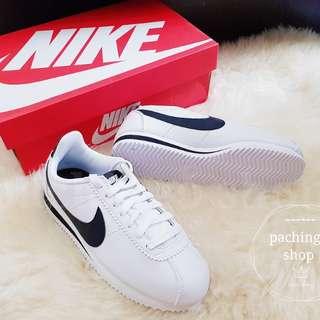 Nike Cortez 黑白 阿甘