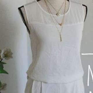 White Classy Jumpsuit