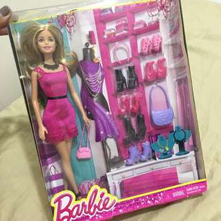 BN w/box auth barbie bought in usa