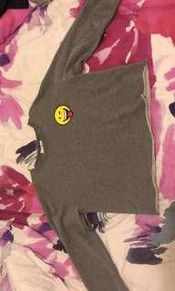 Size small Supre smiley world sweatshirt