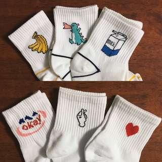 ulzzang socks