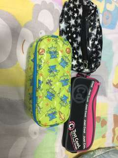 筆袋x2   化妝袋