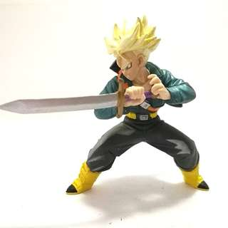 Japan Bandai SS Trunks Sword Killing Dragon Ball Z Action Figure Gashapon Toy