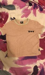 Size XS supre smiley world tee