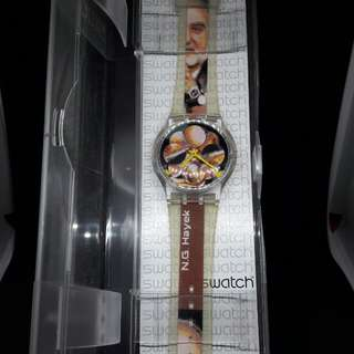 Swatch 創辦人 海耶克(Hayek)紀念錶