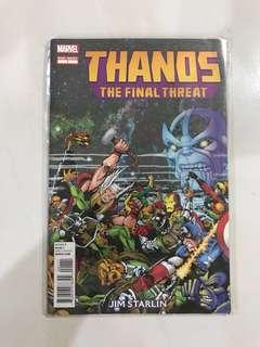 Thanos The Final Threat