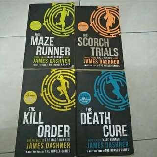 The Maze Runner Series and Lejen Press
