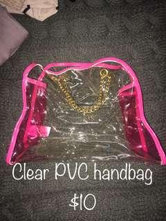 Clear PVC Handbag