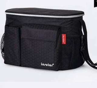 Stroller organizer bag - waterproof insulated keep warm/cold