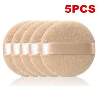 5pcs Makeup Facial Sponge Powder Pads