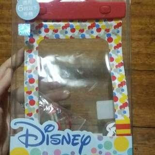 迪士尼附夾子防水袋(大)