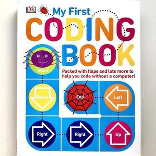 📚 DK My First Coding Book (Hard cover book packed with flaps & lots more ...)
