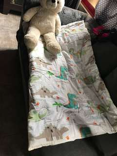 Crib Comforter and pillows Set Teddy