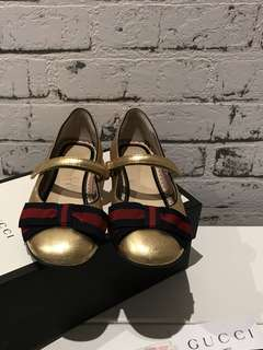 100% Authentic Gucci girl shoes in size 28