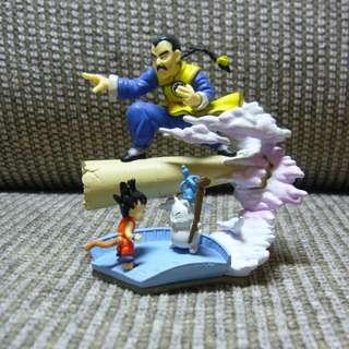 Dragon Ball Z Figure Tao Paipai Goku Imagination HG Gashapon Figure Bandai Rare