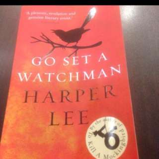 Offer! Go Set A Watchman By Harper Lee (by Author Of Pulitzer Prize Masterpiece  'To Kill A Mockingbird')