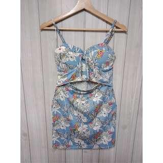 渡假風性感洋裝