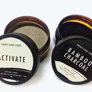 ACTIVATE AND BAMBOO CHARCOAL MASK
