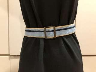 Blue Stripes Belt