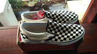 Vans Classic Slip On Checkerboard B/W Original