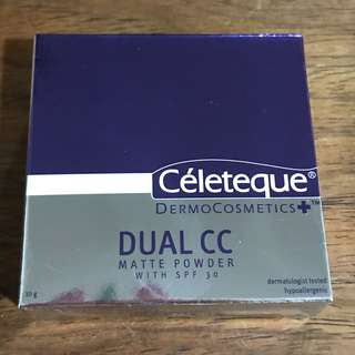 Dual CC matte powder