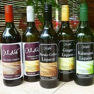 Flavoured Liqeuers . 👌