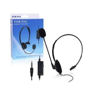 PlayStation 4 專用掛頭式耳機