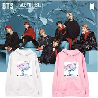 Preorder - BTS FACE YOURSELF HOODIE (SIZE S-2XL) exc.pos