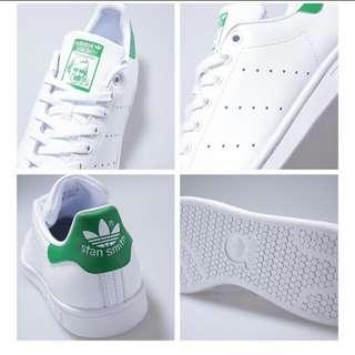 正版Adidas史密斯-綠