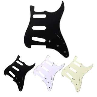 Stratocaster strat sss pickguard pick guard scratch plate for Fender Squire guitars