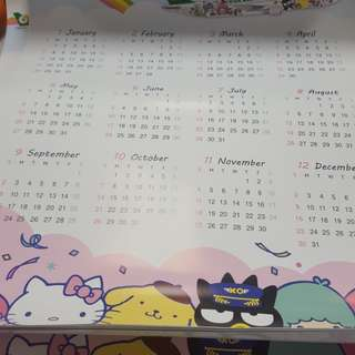 Hello kitty 2018 calender