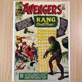 MARVEL COMICS The Avengers #8-1st Appearance of Kang The Conqueror (Serious Buyers Only) morning
