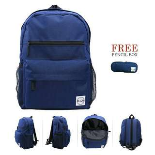 Paket Bundling. Buy 1 Ransel FREE 1 Pensil Box