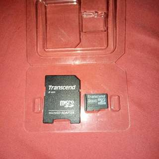 Memory Card Transcend 32GB with Adapter