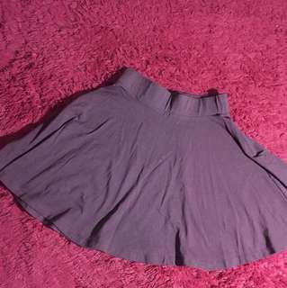 Dark maroon- Purple skirt