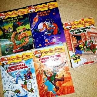 Geronimo Stilton Books (Bundle Set of 8!)